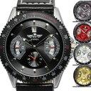 メンズ腕時計 送料無料【カレンダー機能付き】自動巻きバックスケルトン腕時計