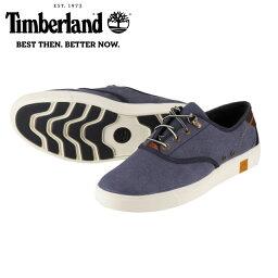 [ティンバーランド] Timberland TIMB A17M2 メンズ | オックスフォードシューズ ローカット | オーガニックコットン | 快適 柔軟性 耐久性 | 大きいサイズ対応 28.0cm 28.5cm 29.0cm | ネイビー