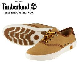 [ティンバーランド] Timberland TIMB A15KC メンズ | オックスフォードシューズ ローカット | オーガニックコットン | 快適 柔軟性 耐久性 | 大きいサイズ対応 28.0cm 28.5cm 29.0cm | ブラウン