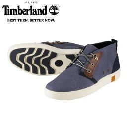 【通販価格】[ティンバーランド] Timberland TIMB A17O9 メンズ | オックスフォードシューズ ハイカット | オーガニックコットン | 快適 柔軟性 耐久性 | 大きいサイズ対応 28.0cm 28.5cm 29.0cm | ネイビー