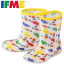 [イフミー] IFME SC-0004 ベビー・キッズ | レインブーツ 長靴 雨靴 | ベビーシューズ キッズシューズ | LED 光る靴 | 男の子 女の子 | ホワイト