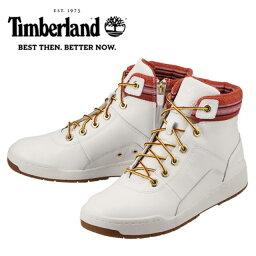 [ティンバーランド] Timberland TIMB A15ES メンズ | ハイカットスニーカー | ブリッジトン ミッド ジップ ネイティブ | ミッドカット カジュアルシューズ | 大きいサイズ対応 28.0cm | ホワイト
