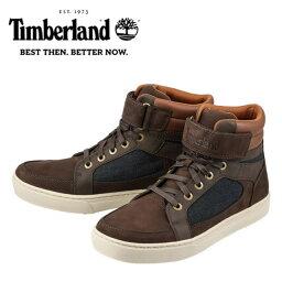 【通販価格】[ティンバーランド] Timberland TIMB 6104B メンズ | ハイカットスニーカー | CUPSOLE HOOKLOOP | 面ファスナー 着脱テープ | 柔軟性 | ブラウン
