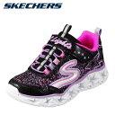 スケッチャーズ SKECHERS 10920L キッズ靴 キッズ・ジュニアスニーカー ガールズシューズ 光る靴 人気 ブランド BKMT