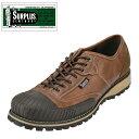 【スペシャルプライス】[サープラス] SURPLUS SU-2001 メンズ | カジュアルシューズ | ラバーキャップ ラキッドソール | レースアップ 幅広 | 大きいサイズ対応対応 | ブラウン