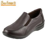 [バイオフィッターレディース]BioFitterBFL-009レディース|ウォーキングシューズ|スリッポン|サイドゴア散歩靴|大きいサイズ25.0cm|ダークブラウン