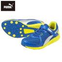 [プーマ] PUMA 359400 01 ジュニア | ジュニアスニーカー | 運動靴 スピードモンスター | 軽量 クッション性 | メッシュ 面ファスナー | ブルー05P03Dec16