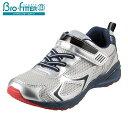 [バイオフィッター スポーツ] Bio Fitter BF-355 キッズ ジュニア | キッズスニーカー ジュニアスニーカー | 子供靴 運動靴 | 抗菌 防臭 面ファスナー | 男の子 女の子 | グレー