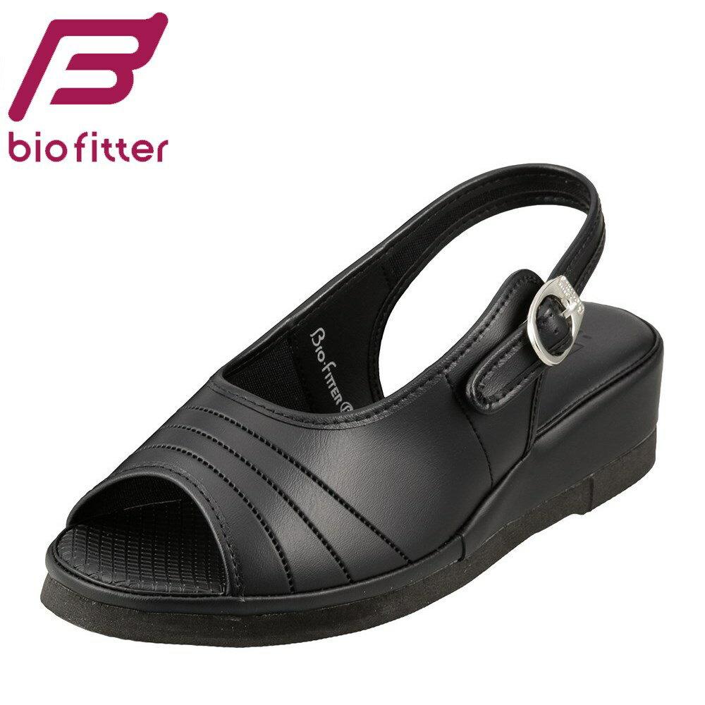 [バイオフィッター ナース] Bio Fitter BFN25061 レディース   ナースサンダル   オフィスサンダル 仕事靴   軽量 滑りにくい   大きいサイズ対応 25.0cm 25.5cm 26.0cm 26.5cm   ブラック