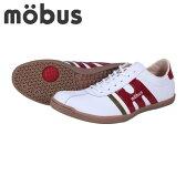 MOBUS(MUNDEN)|モーブス|ミュンデン|M0804-1793E|スニーカー|メンズ【ホワイト×ダークレッド】★お取寄せ★
