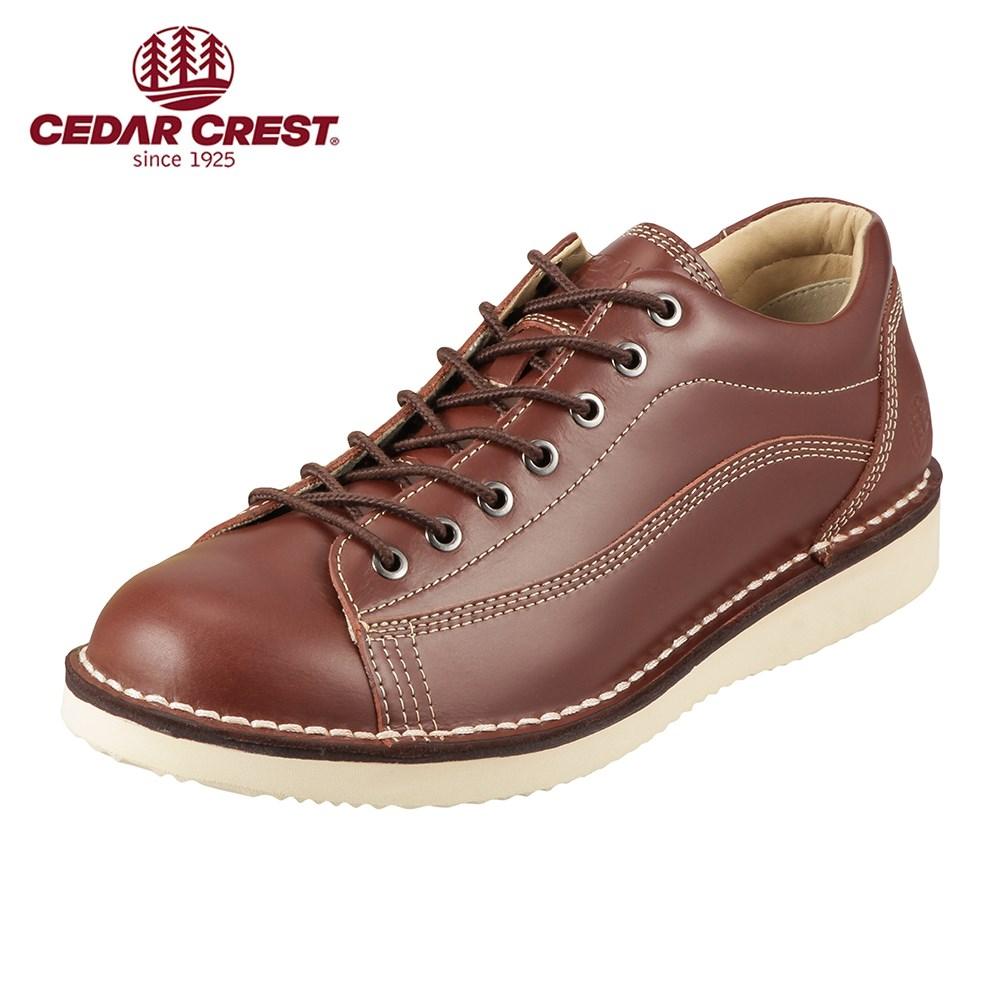 [入荷次第発送][セダークレスト] CEDAR CREST CC-1031 メンズ | ウォーキングシューズ | ステッチダウン | レースアップ | ブランド 人気 | ダークブラウン