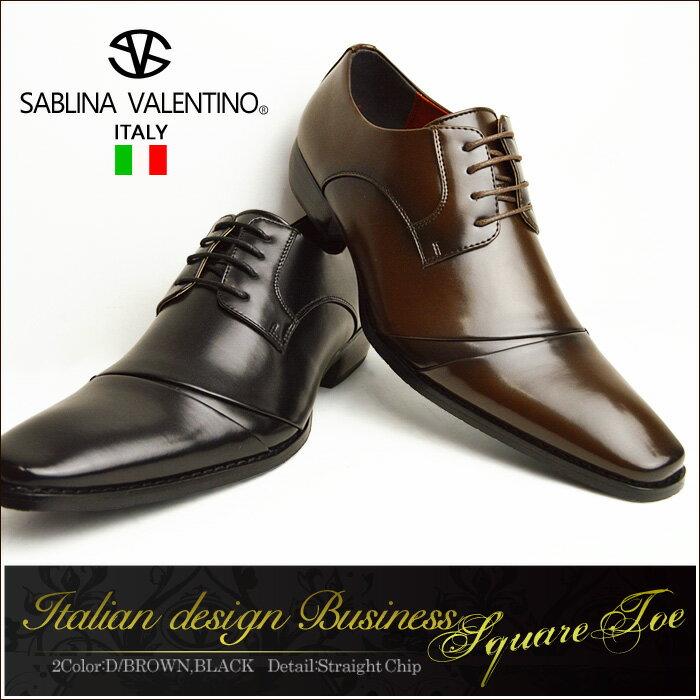 ビジネスシューズ メンズ 靴 メンズシューズ 革靴 イタリアンデザイン スクエアトゥ レー…...:shoe-square:10002056