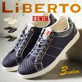 ��LiBERTO-EDWIN-��٥�� ���ɥ������ ���ˡ����� ��� �� ��� ���ˡ����� �����奢�륷�塼�� ��� ����塼�� ����ˡ����� ���� men's sneaker �͵� �� l71140/�ڤ������б���2016 �� ���ե�