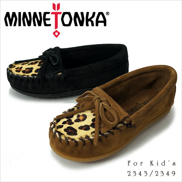 MINNETONKA ミネトンカKILTY SUEDE MOC FOR CHILDRENS…...:shoemart:10003486