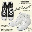 CONVERSE JACK PURCELL MIDコンバース ジャックパーセル ミッドミッドカット メンズ レディース スニーカー キャンバス 白 黒 ホワイト22.5cm~30.0cm JP MD