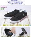 【※在庫状況確認】ポロ ラルフローレン R767 HARVEY ブラック 黒色 全3色展開 POLO RALPH LAUREN ハービー メンズ キャンバススニーカー シューズ 靴 サイズ 25.5-28.5cm