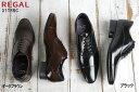 ショッピングREGAL リーガル 靴 メンズ 31TRBC ダークブラウン 濃茶色、ブラック 黒色 の2色 日本製 国産 REGAL 31TR 男性用 レースアップシューズ 紳士靴 24-27cm