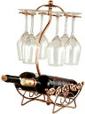 インテリア ワインホルダー ワイングラス ホルダー ラック ワイン シャンパン ボトル スタンド アンティーク調