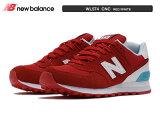 ニューバランス WL574 CNC レッド/ホワイト RED/WHITE レディースモデル newbalance