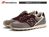 newbalance ニューバランス WR996 GR GRAY/BURGUNDY ウィズ D