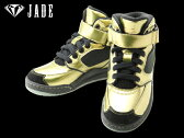 JUNIOR ジュニア【 JADE ジェイド 】JW1001 GOLD ゴールド高機能 ダンスシューズ