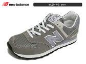 newbalance ニューバランスML574 VG グレー23cm〜25cm レディース メンズ
