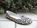 "fs/ny (F S slash N Y) ballet shoes ""sloop"" LEOPARD SUEDE [smtb-KD]"