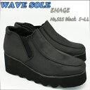 波なみ 厚底ソールウェーブ シューズ ENAGE 525 エナージェ K-525 ブラック 軽量 ソール スポンジソール シューズお仕事履き、美脚シューズ厚底靴 05P03Dec16