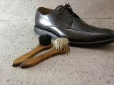 馬毛使用の靴用ブラシ(ハンドルブラシ)【Columbus コロンブス】ジャーマンブラシ 良質な馬毛ブラシ(ドイツ製)靴 シューズ