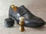 馬毛使用の靴用ブラシ(ミニタイプ)【Columbus コロンブス】ハンドルミニブラシ 良質な馬毛ブラシ(ドイツ製)靴 シューズ