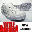 LA5000N 白スニーカー LA-5000N ホワイト/ホワイト ホワイトスニーカー NO,1 【通学靴】【スニーカー】【白靴】学生さん ~ お仕事履き まで人気!白 スニーカー 05P07Feb16