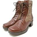 ショッピングあしながおじさん あしながおじさん レースアップブーツ ハイカット 本革 内側ファスナー 22.5cm 〜 24.5cm 2810183 靴 レディース 婦人靴