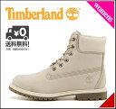 ティンバーランド レディース ブーツ アイコン 6インチ プレミアム ブーツ 防水 雨 雪 靴 カジュアル デイリー アウトドア ICON 6inch PREMIUM BOOT Timberland 23623 ウィンターホワイト
