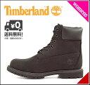 ティンバーランド レディース ブーツ アイコン 6インチ プレミアム ブーツ 防水 雨 雪 靴 カジュアル デイリー アウトドア ICON 6inch PREMIUM BOOT Timberland 8658A ブラック