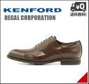 リーガルコーポレーション ケンフォード メンズ ビジネスシューズ 本革 ストレートチップ 軽量 クッション性 4E 幅広 カジュアル デイリー オフィス フォーマル ドレス ウォーキング 冠婚葬祭 就活 KENFORD KN21AB ブラウン