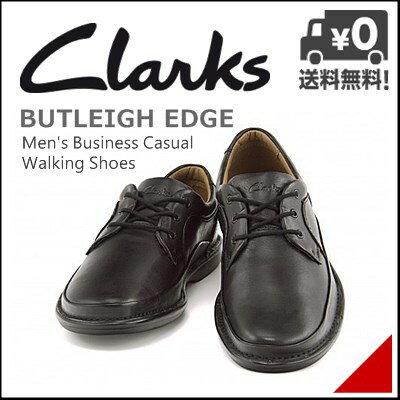 クラークス メンズ バトレイ エッジ ウォーキングシューズ カジュアル デイリー トラベル ビジネス オフィス BUTLEIGH EDGE Clarks 26113937 ブラック