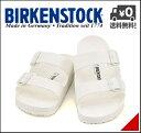 ビルケンシュトック メンズ コンフォート サンダル アリゾナ EVA 幅広 痛くない 歩きやすい 疲れない クラシック 軽量 ウォッシャブル 雨 雪 靴 カジュアル デイリー トラベル ビジネス オフィス ARIZONA EVA BIRKENSTOCK 129441 ホワイト