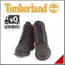 ティンバーランド メンズ 6インチ ベーシック ブーツ 防水 雨 雪 靴 カジュアル アウトドア Timberland 6inch BASIC BOOT 10042 ブラックヌバック