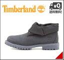 ティンバーランド メンズ ブーツ 2WAY カジュアル デイリー アウトドア ロールトップ レザー&ファブリック ROLL TOP LEATHER AND FABRIC Timberland A1787 ナイトシャドー