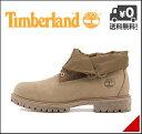 ティンバーランド メンズ ブーツ 2WAY カジュアル デイリー アウトドア ロールトップ レザー&ファブリック ROLL TOP LEATHER AND FABRIC Timberland A178I ゴーファー