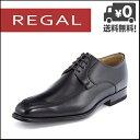 リーガル ビジネスシューズ 靴 メンズ Uチップ スクエアトゥ REGAL 124R AL ブラック