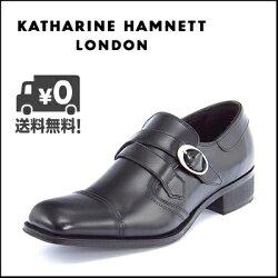 KATHARINEHAMNETT(キャサリンハムネット)メンズビジネスシューズ3956ブラック