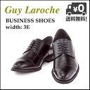 ビジネスシューズ メンズ ストレートチップ ロングノーズ 3E ギラロッシュ Guy Laroche GLL1421 ブラック