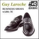 ビジネスシューズ メンズ ビットローファー ロングノーズ 3E ギラロッシュ Guy Laroche GLL1423 ブラック【メンズバーゲン】