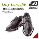 ビジネスシューズ メンズ スワールモカ 3E 幅広 ロングノーズ 冠婚葬祭 オフィス 就職活動 ギラロッシュ Guy Laroche 1331 ブラック