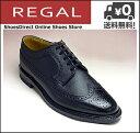 リーガル ビジネスシューズ 靴 メンズ スコッチグレイン ウィングチップ 2235NA ブラック