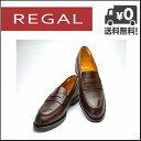 リーガル ビジネスシューズ 靴 メンズ ローファー 3E JE02AH ダークブラウン【メンズバーゲン】
