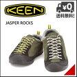 キーン メンズ カジュアル アウトドア スニーカー ジャスパーロックス KEEN JASPER ROCKS 1013300 フォレストナイト/ウォームオリーブ