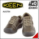 キーン メンズ ウォーキングシューズ スニーカー 防水 雨 雪 靴 オースティン KEEN AUSTIN 1007722 チョコレートブラウン