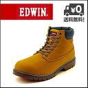 EDWIN(エドウィン) メンズ カジュアルブーツ EDM-8400 イエロー【メンズバーゲン】